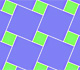 Pythagoras' Theorem in a tiling | matematicasVisuales
