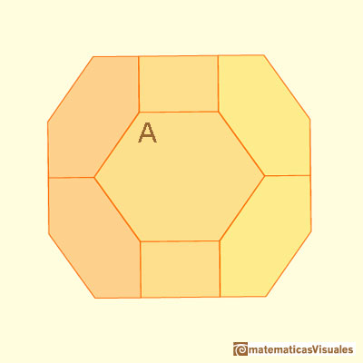 Chamfered cube: angles | matematicasVisuales