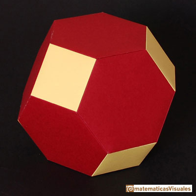Truncated Octahedron: | matematicasVisuales
