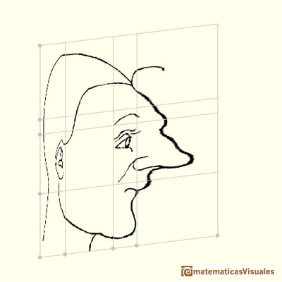 Durer's transforamtions of faces | matematicasvisuales